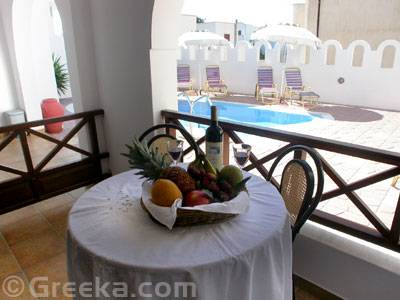 Pension Stella, Santorini, Greece, best price guarantee for hotels in Santorini